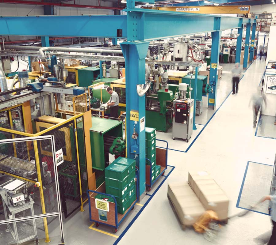sound system installation to factory manufacturing facility