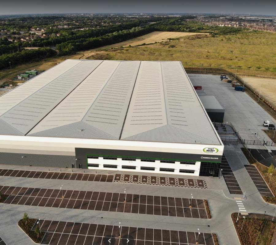 warehouse logistics sound system